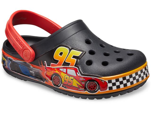 Crocs Fun Labs Disneyand Pixar Cars Clogs Niños, negro